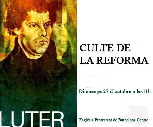 Culte de la Reforma 2019