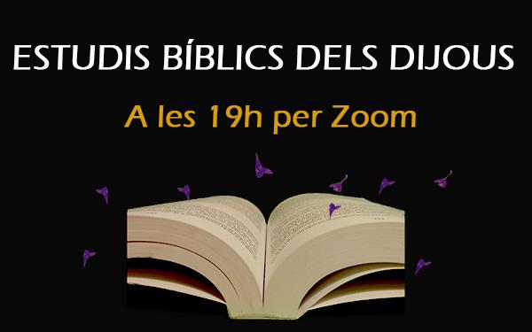 Reprenem els estudis bíblics