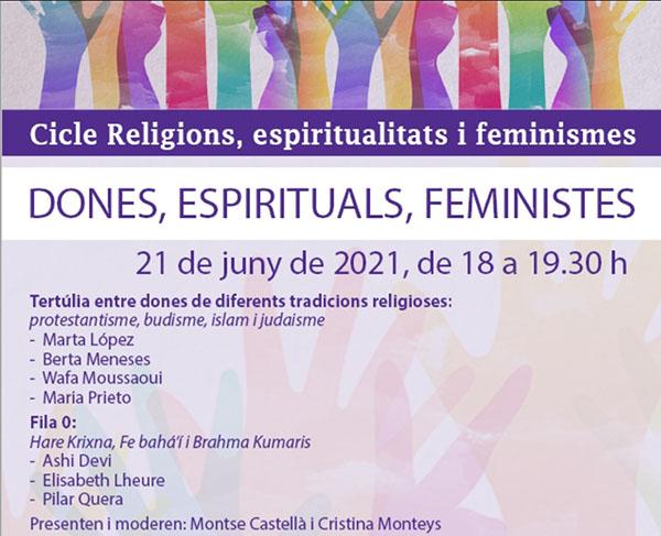 Tertúlia Cicle Religions, espiritualitats i feminismes