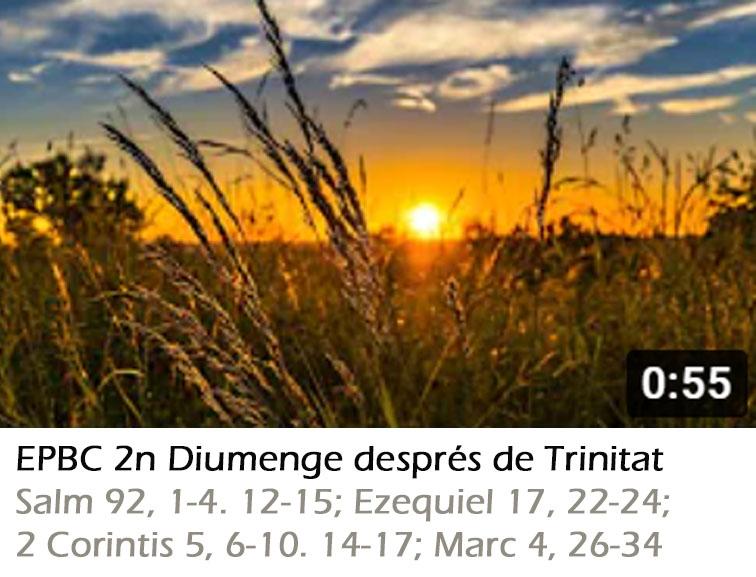 Culte 13/06/21 – 2n Diumenge de Trinitat